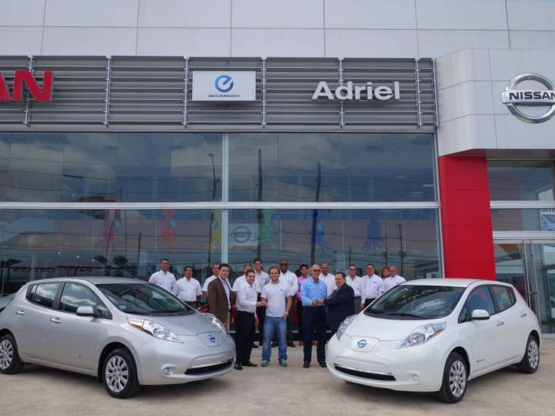 2015 Nissan LEAF Lands in Puerto Rico