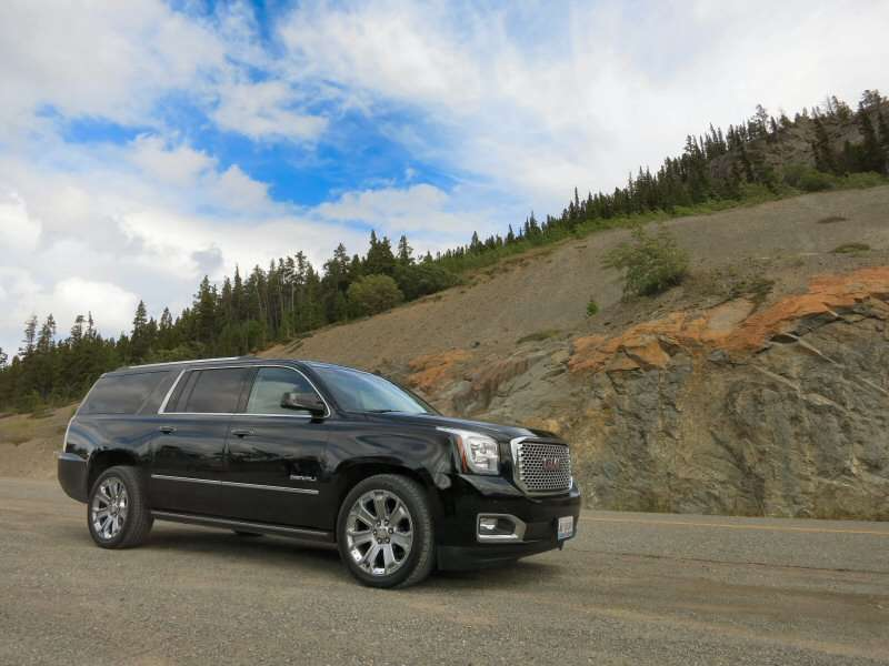Yukon Adventure: Driving the 2015 GMC Yukon Full-Size SUV Across Its Northern Namesake