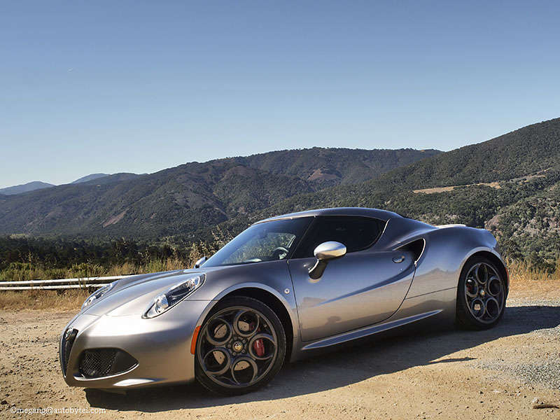2015 Alfa Romeo 4C Sports Car Quick Spin
