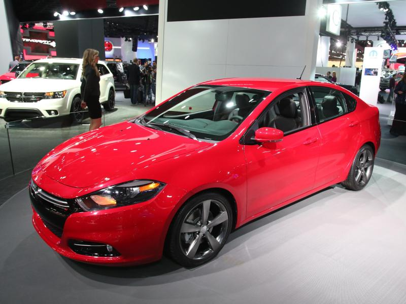 2014 Dodge Dart in Demand as Sales Jump 22 Percent