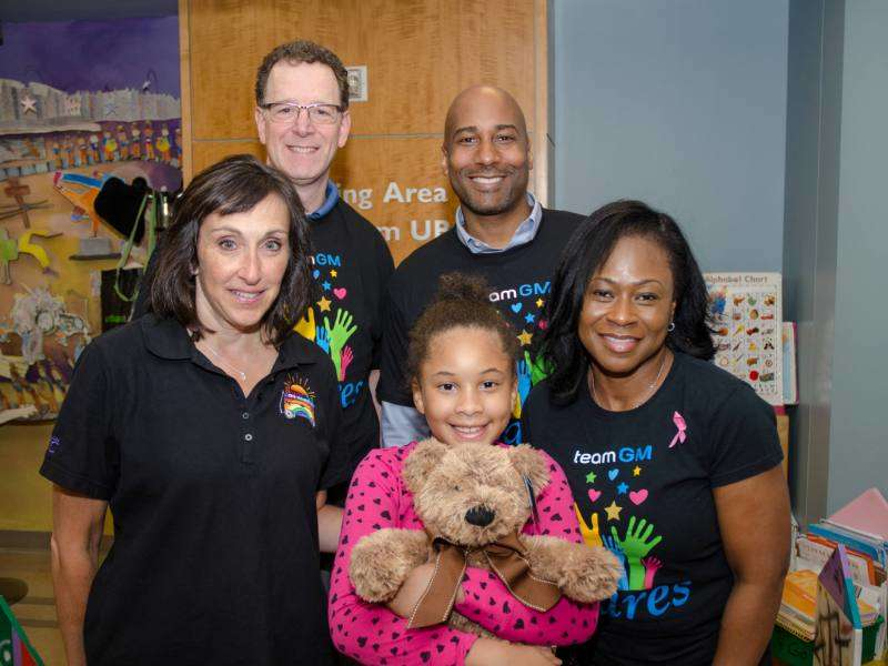 2015 Chevrolet Corvette Bears Gifts for Young Cancer Patients