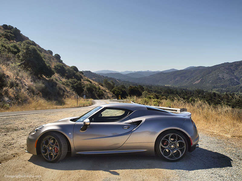 The 2015 Alfa Romeo 4C In Photos
