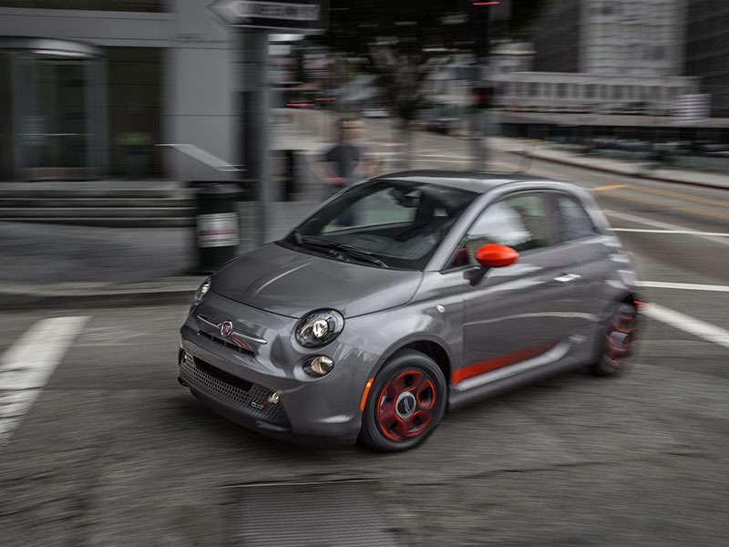 2016 Fiat 500e Road Test and Review