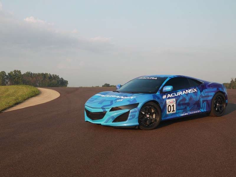 new honda cars nsx hybrid sports car pictures. Black Bedroom Furniture Sets. Home Design Ideas