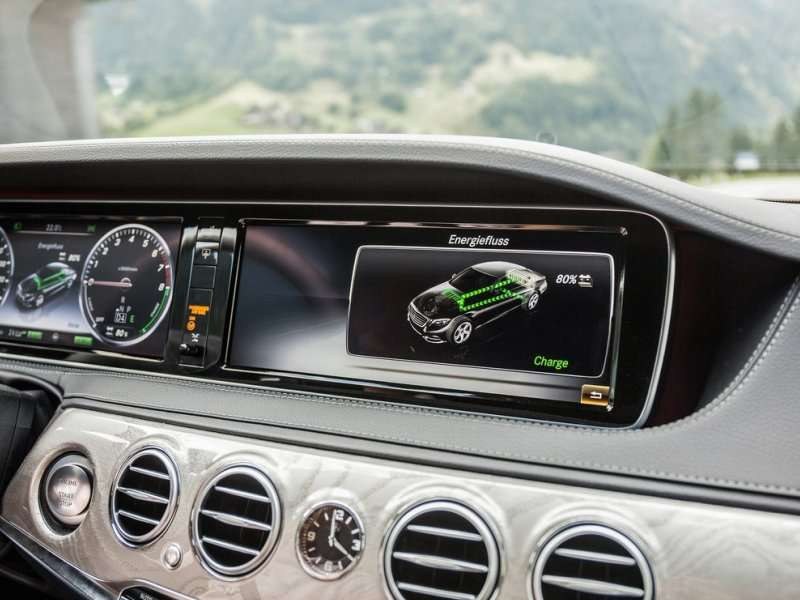 2015 Mercedes-Benz S-Class Plug-in Euro-rated at 84 MPG