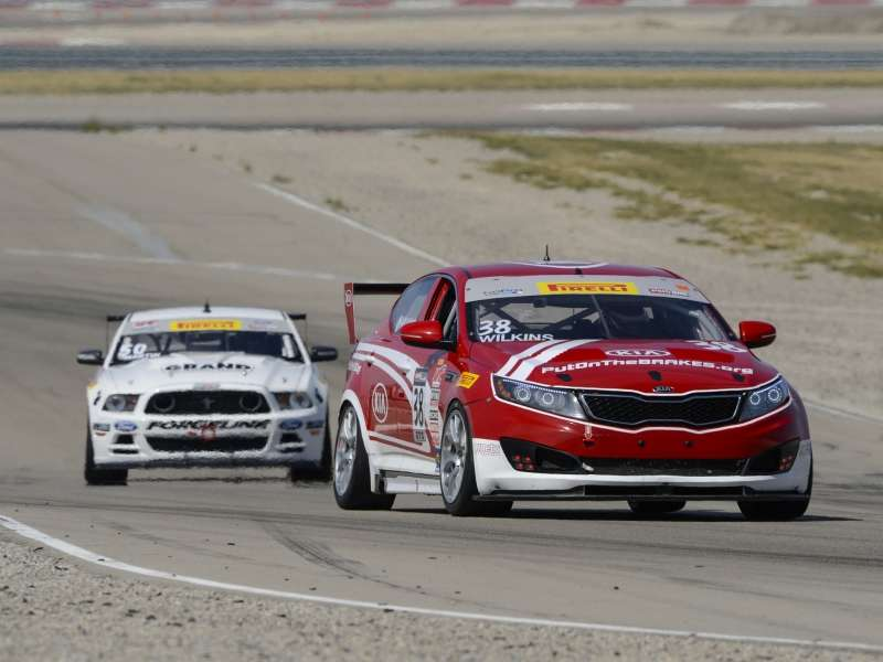 Kia Wins First Pirelli Championship with 2015 Kia Optima Turbo