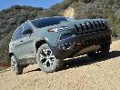 2015 Jeep Cherokee Trailhawk Anvil Paint Off Road Front Quarter Right