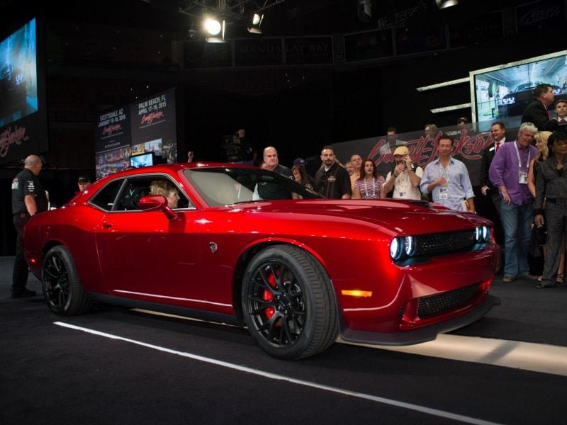 2015 Dodge Challenger Hellcat Sets Barrett-Jackson Benchmark