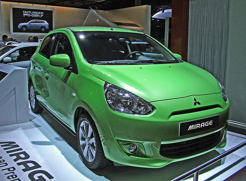 2015 Mitsubishi Mirage Tops 1,300 September Sales