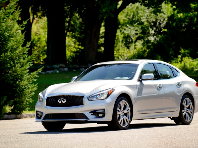 2015 Infiniti Q70 Achieves Top Safety Pick+ Rating