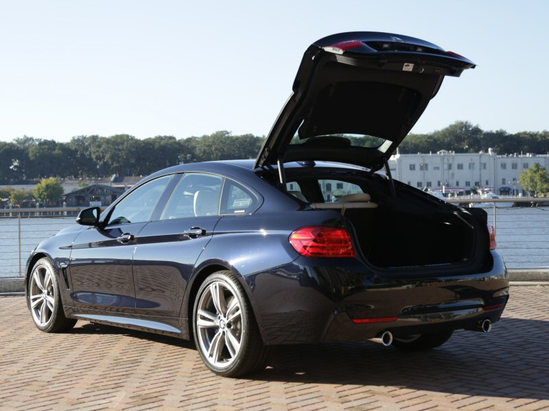2015 bmw 4 series gran coupe luxury sedan first drive and review. Black Bedroom Furniture Sets. Home Design Ideas