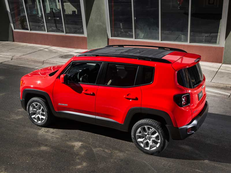 2015 Jeep Renegade Ready for Customers from Sao Paulo to San Antonio