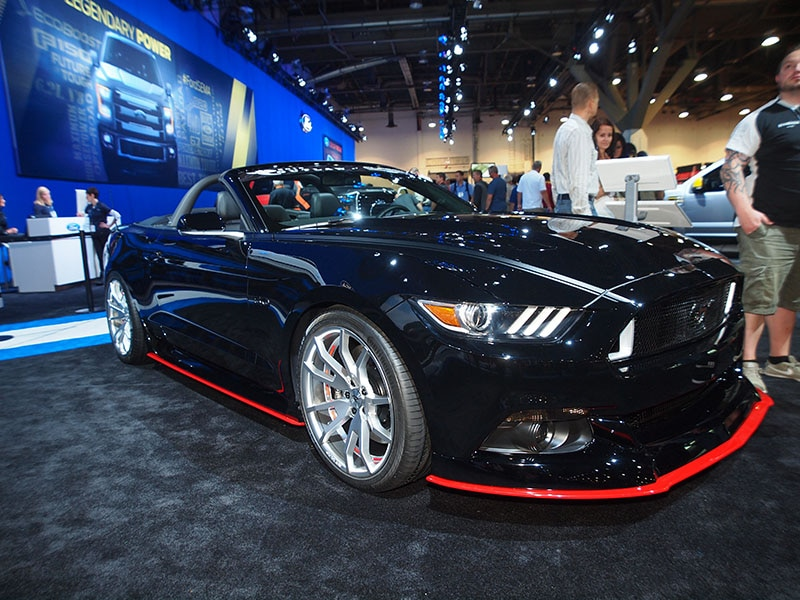 2015 mustang gt convertible outlaw by classic design concepts - 2015 Ford Mustang Gt Convertible Black