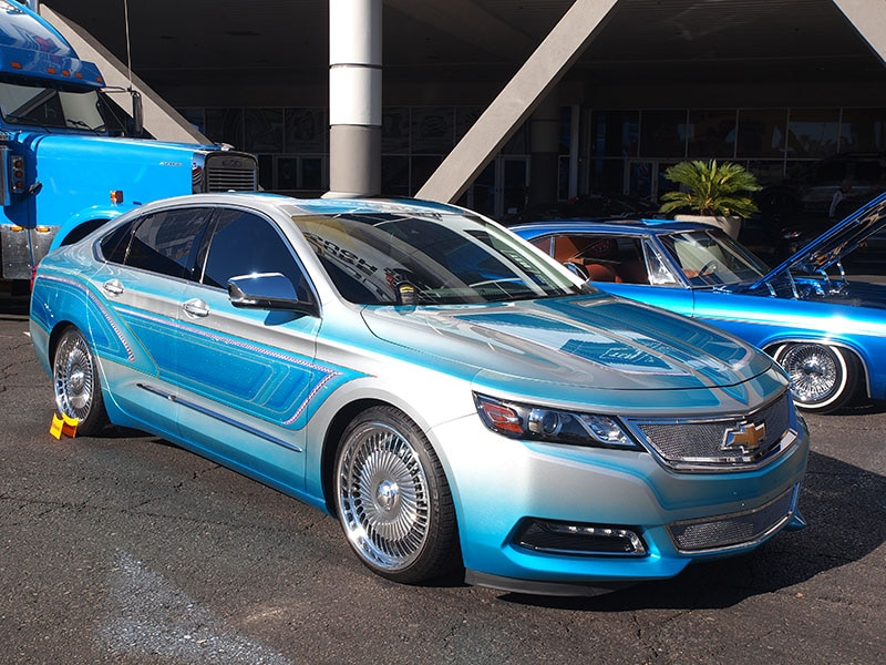 15 Best Paint Jobs At Sema Autobytel Com