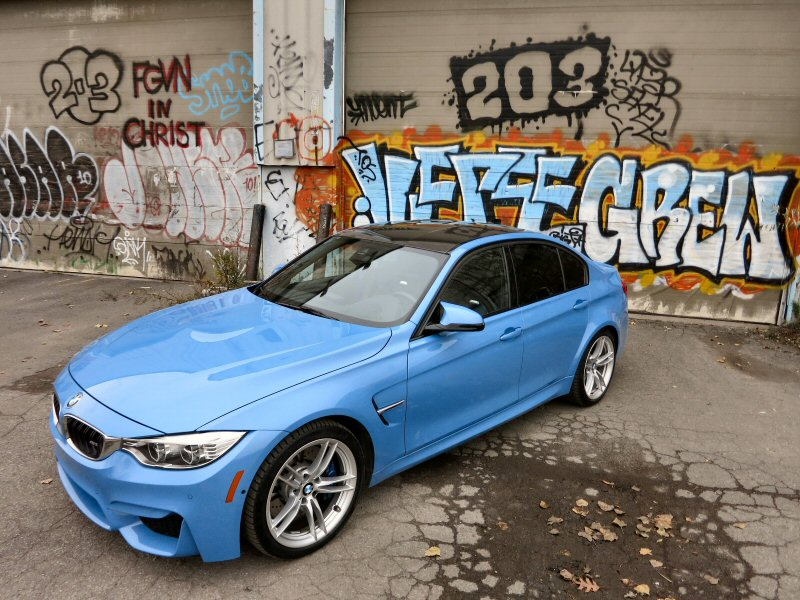 2015 BMW M3 Sport Sedan Review