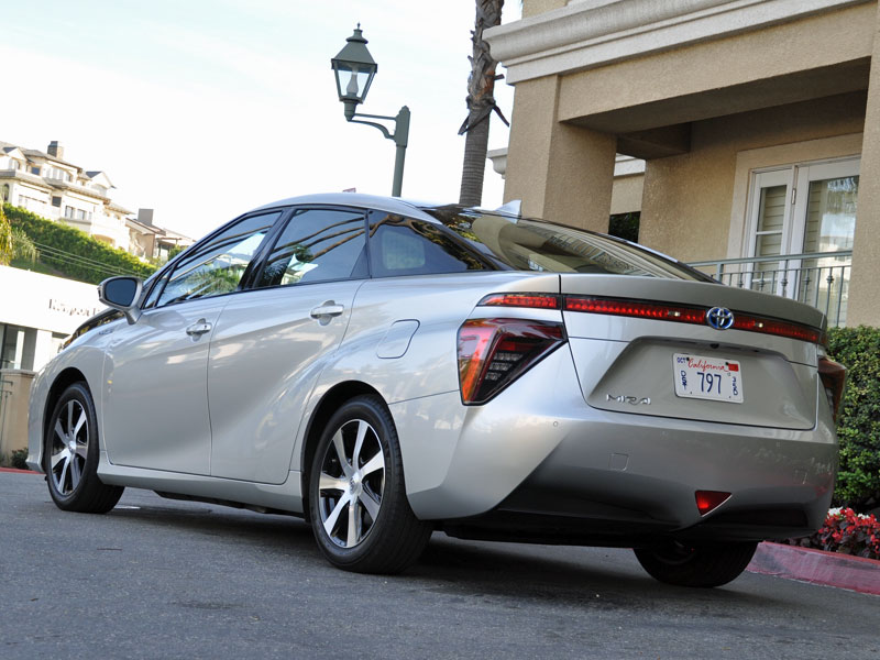 Innovative 2016 Toyota Mirai Review And First Drive  Autobytelcom