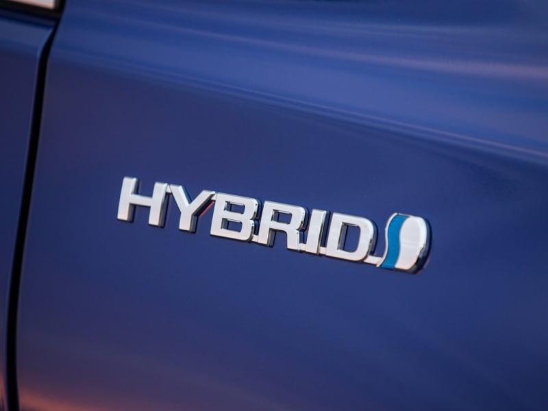 Hybrid Badge toyota prius