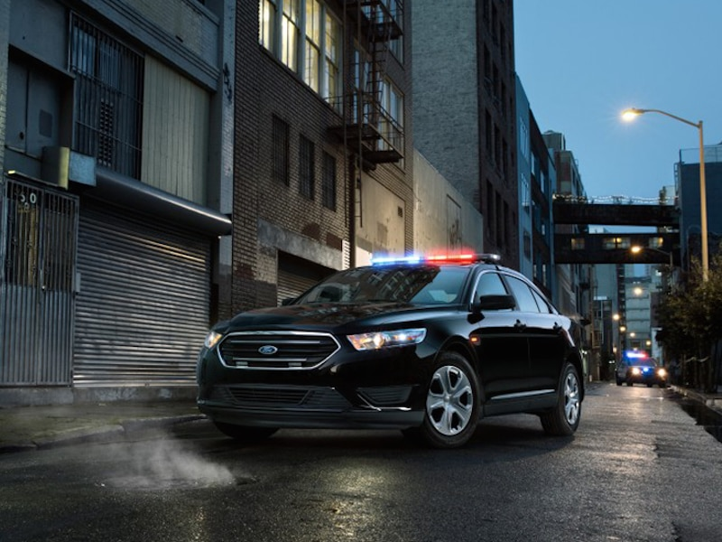 2015 Ford Police Interceptor SUV
