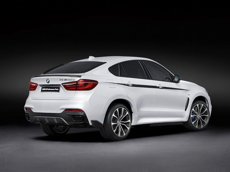 All About The M Performance Parts For The BMW X6