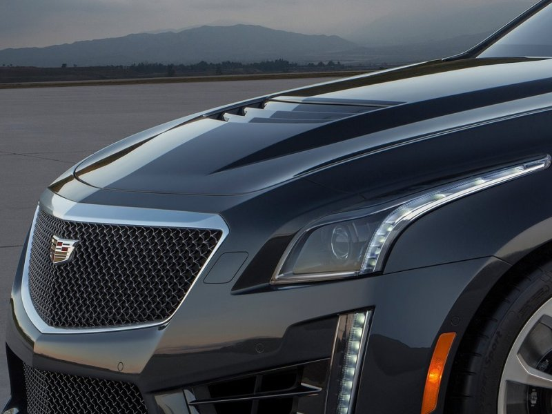 Supercharged 2016 Cadillac CTS-V Targets 200 MPH