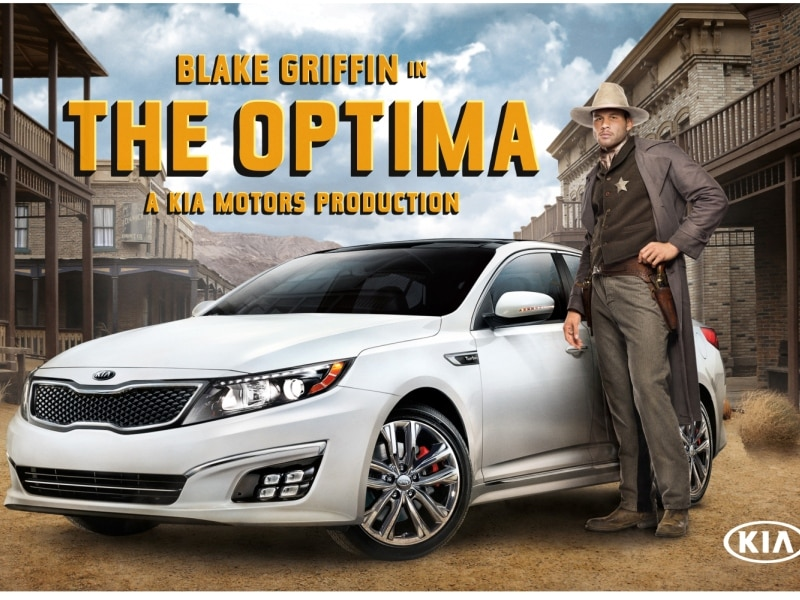 Blake Griffin Suits up to Support the 2015 Kia Optima