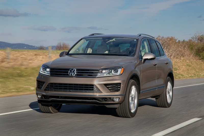2015 Volkswagen Touareg: Luxurious Interior and More Capable than Ever