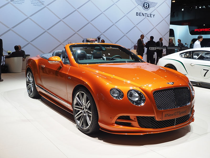 Fastest Cars at the 2015 Detroit Auto Show