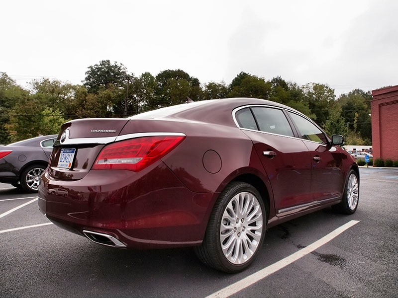 Buick Lacrosse Backside