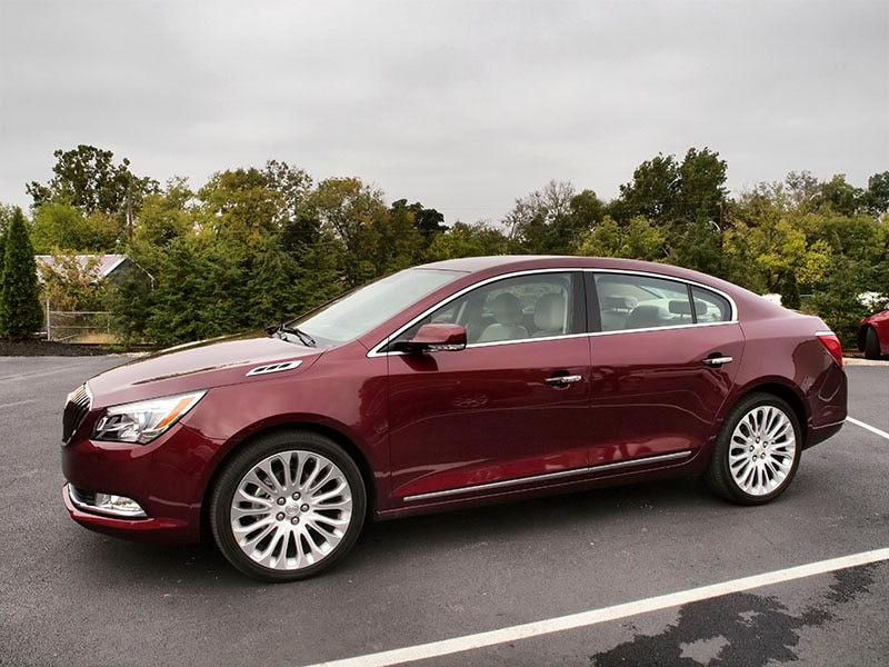 New 2015 Buick LaCrosse Quick Spin Review  Autobytelcom