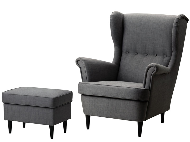 Ikea Strandmon Wing Chair - 12 Iconic Ikea Products You Won't Believe Will Fit In A Small