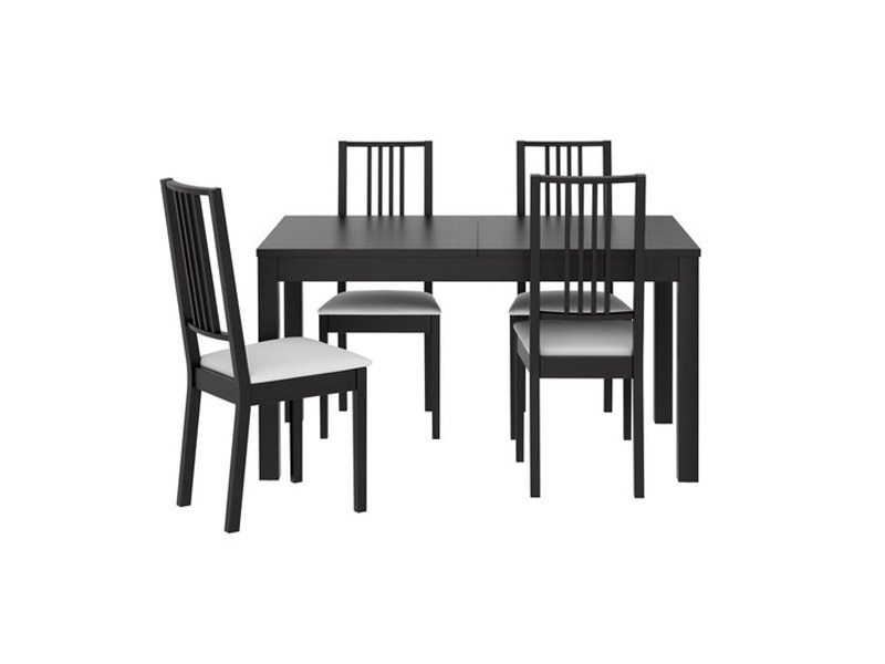 black furniture ikea. ikea bjurstaborje dining set black furniture