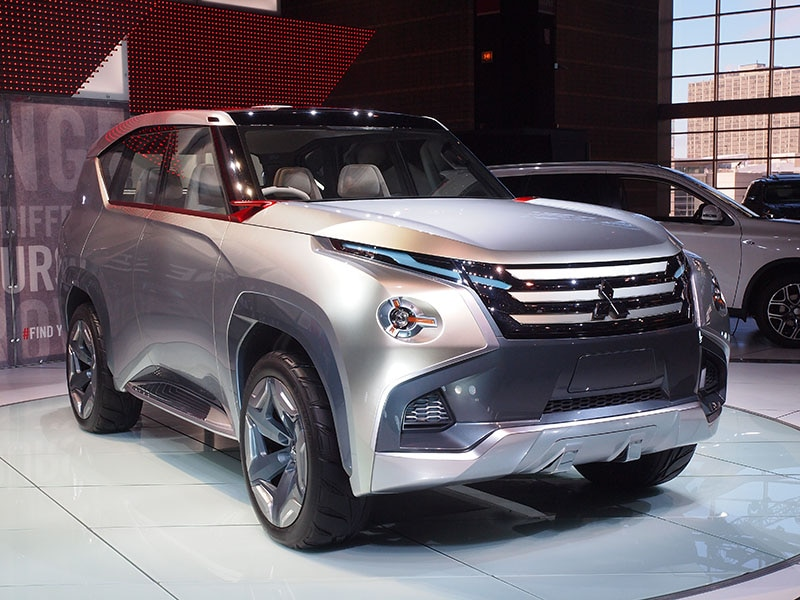 Mitsubishi gc phev concept preview 2015 chicago auto show Motor vehicle chicago
