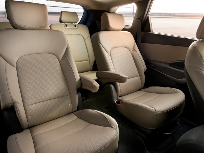 10 suvs with second row captain s chairs. Black Bedroom Furniture Sets. Home Design Ideas