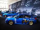 Subaru STI Display at New York Auto Show 2015