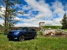 2015 Land Rover Range Rover Sport SVR front 3/4