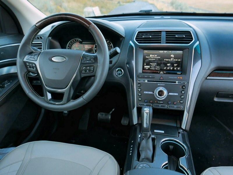 still enormous inside the 2016 ford explorer platinum