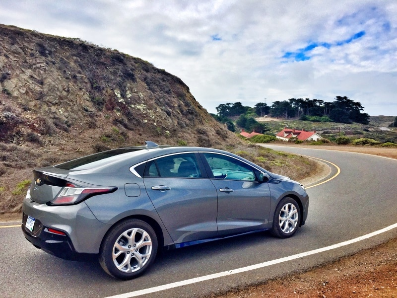 Model 2016 Chevrolet Volt Quick Spin Review  Autobytelcom