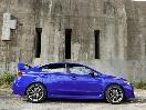 2016 Subaru WRX STI side profile silhouette