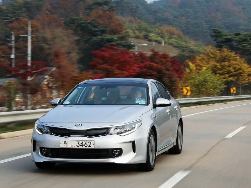 Luxury 2016 Kia Optima Hybrid And Optima PHEV First Drive And Review