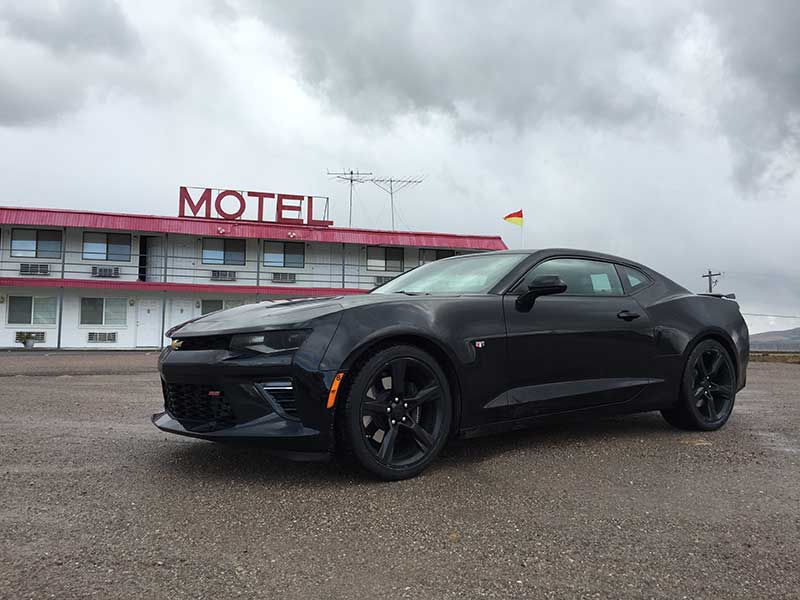 2016 Chevy Camaro SS Road Trip: From Utah to Montana in the Snow