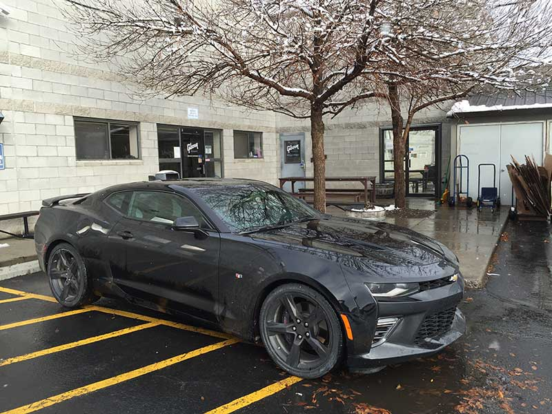 2016 Chevy Camaro SS Road Trip From Utah to Montana in the Snow