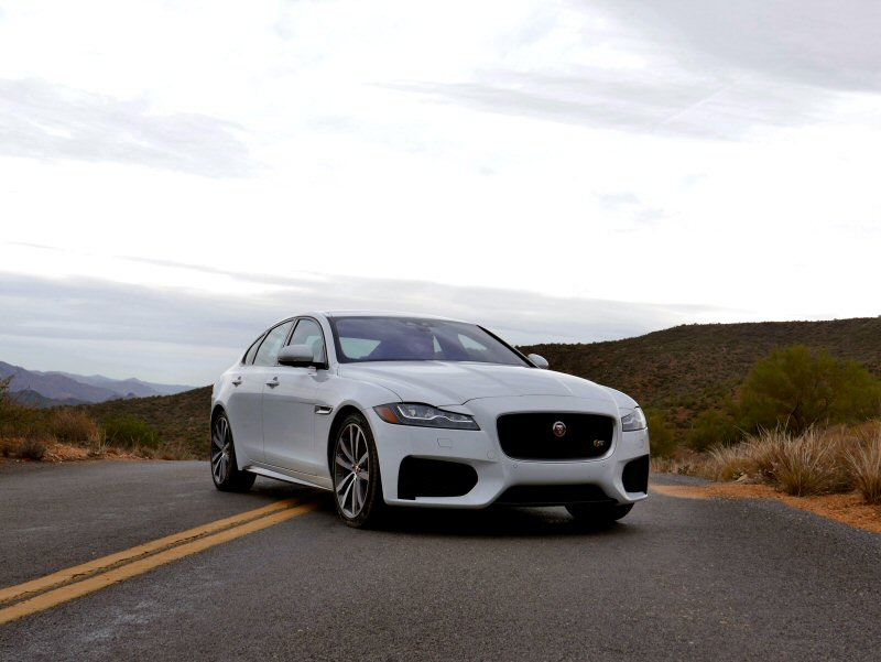2016 jaguar xf first drive and review. Black Bedroom Furniture Sets. Home Design Ideas