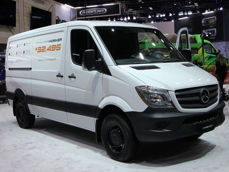 2016 CAS Mercedes Sprinter