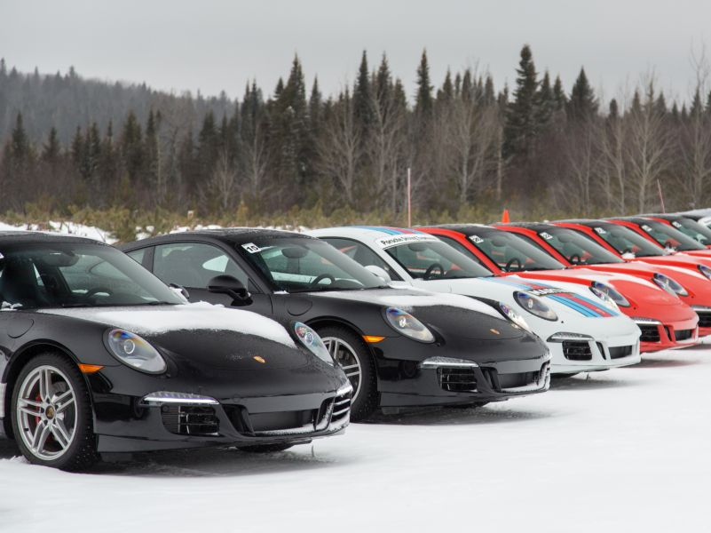 Porsche Camp4: Building Better Winter Drivers