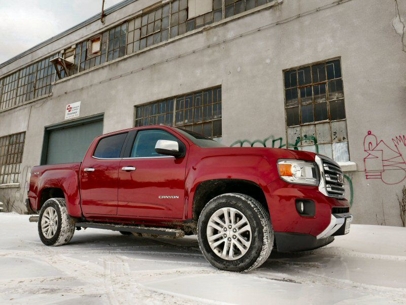 2016 gmc canyon diesel road test and review. Black Bedroom Furniture Sets. Home Design Ideas
