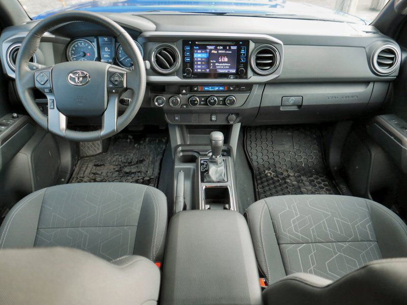 2016 toyota tacoma road test and review. Black Bedroom Furniture Sets. Home Design Ideas