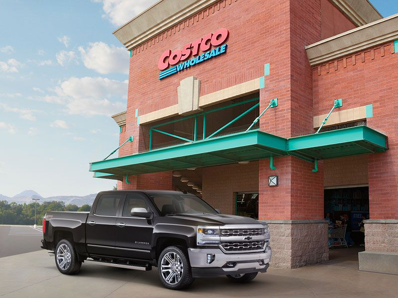 Costco Teams with Chevrolet to Offer 2016 Chevrolet Silverado Limited Edition Package