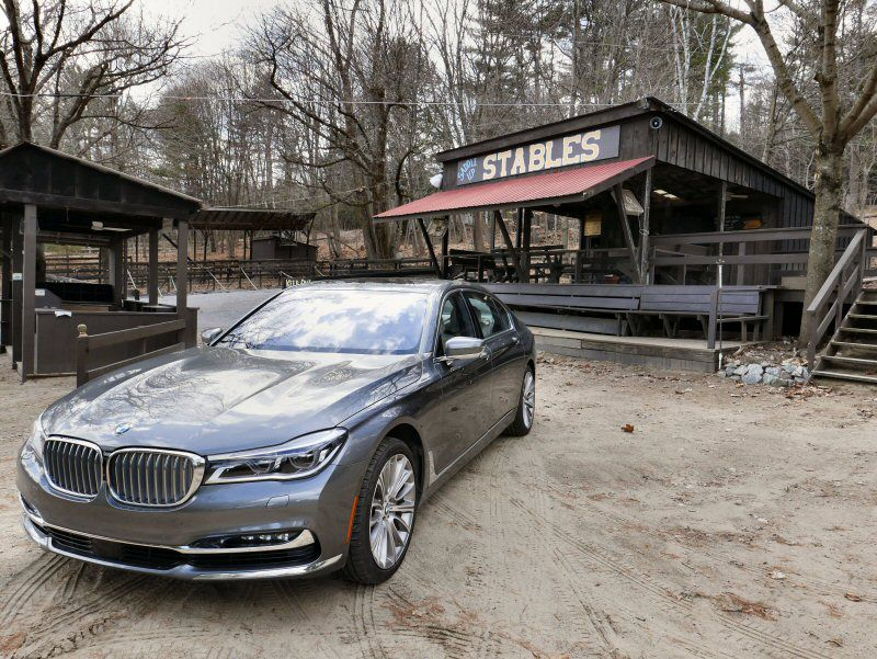 2016 BMW 7 Series Road Test and Review