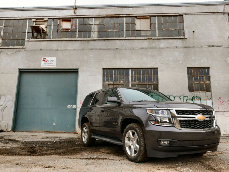 2016 chevrolet tahoe road test and review. Black Bedroom Furniture Sets. Home Design Ideas