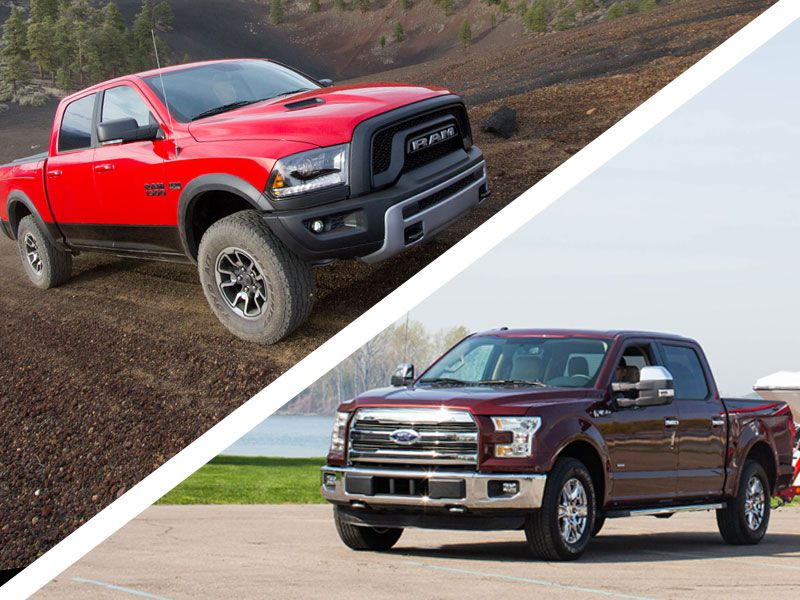 Ford F-150 vs. Ram 1500: Battle of the Work Trucks